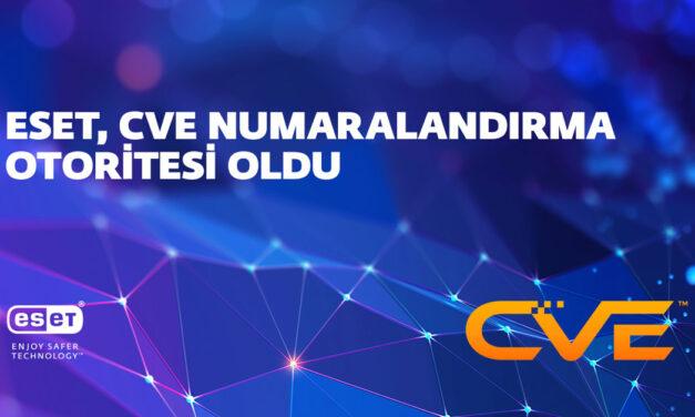 ESET, CVE Numaralandırma Otoritesi olarak yetkilendirildi